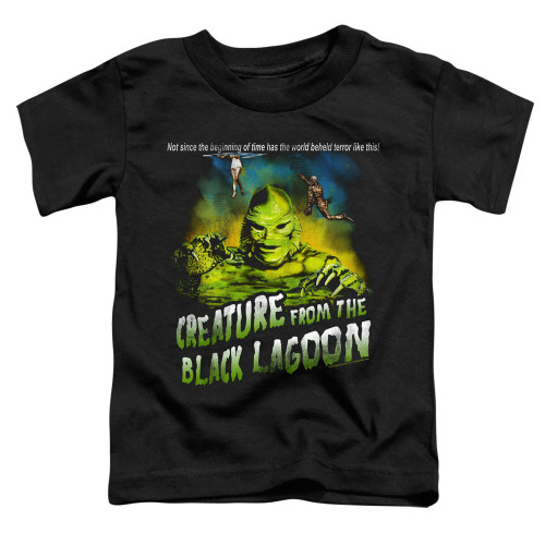 Image for The Creature From the Black Lagoon Not Since the Beginning of Time Poster Toddler T-Shirt