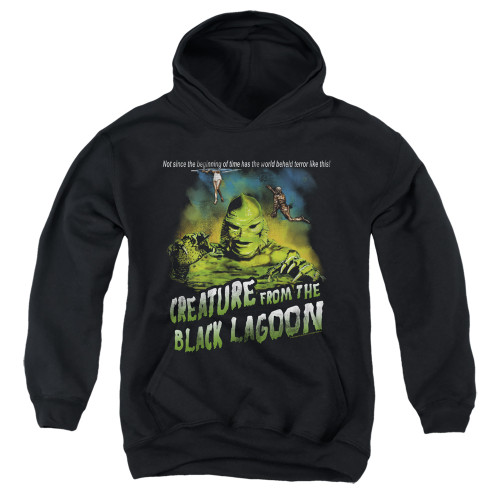 Image for The Creature From the Black Lagoon Youth Hoodie - Not Since the Beginning of Time