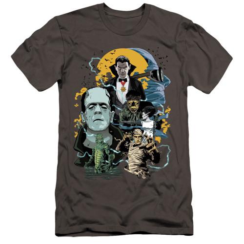 Image for Universal Monsters Premium Canvas Premium Shirt - Monster Mash
