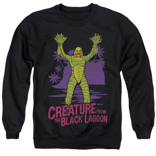 Image for The Creature From the Black Lagoon Crewneck - From Forbidden Depths