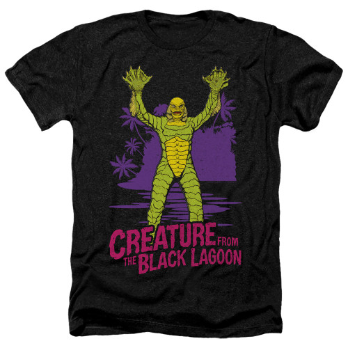 Image for The Creature From the Black Lagoon Heather T-Shirt - From Forbidden Depths