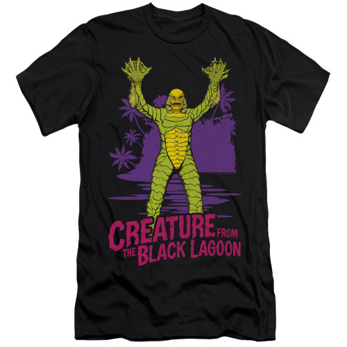 Image for The Creature From the Black Lagoon Premium Canvas Premium Shirt - From Forbidden Depths