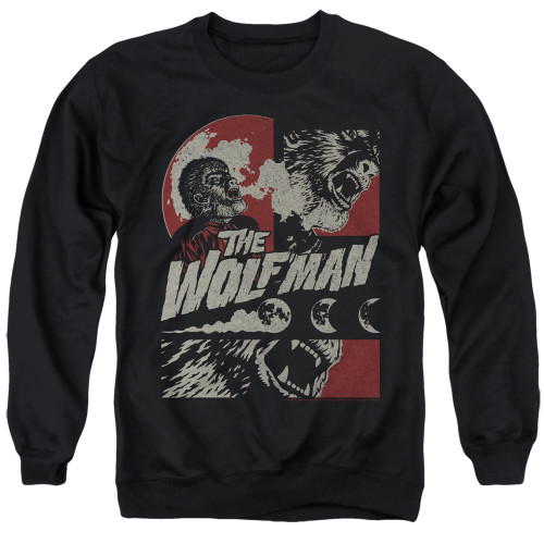 Image for The Wolfman Crewneck - When the Wolfbane Blooms