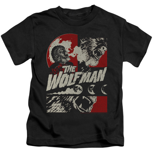 Image for The Wolfman When the Wolfbane Blooms Kid's T-Shirt