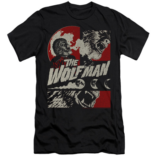 Image for The Wolfman Premium Canvas Premium Shirt - When the Wolfbane Blooms