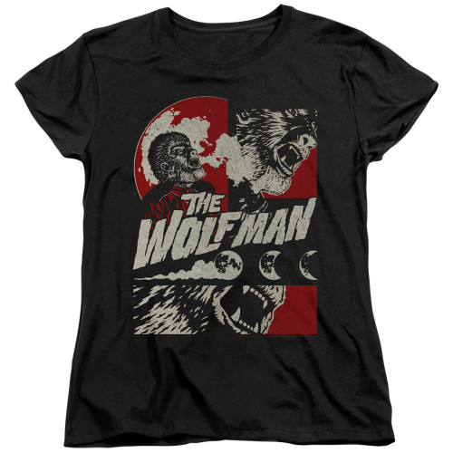 Image for The Wolfman Womans T-Shirt - When the Wolfbane Blooms