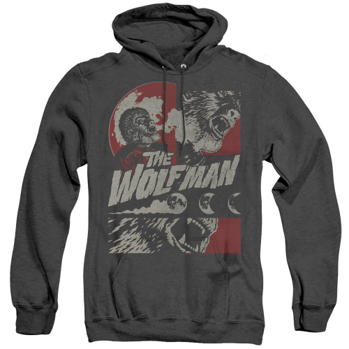 Image for The Wolfman Heather Hoodie - When the Wolfbane Blooms
