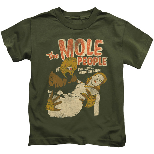 Image for The Mole People Evil Lurks Kid's T-Shirt