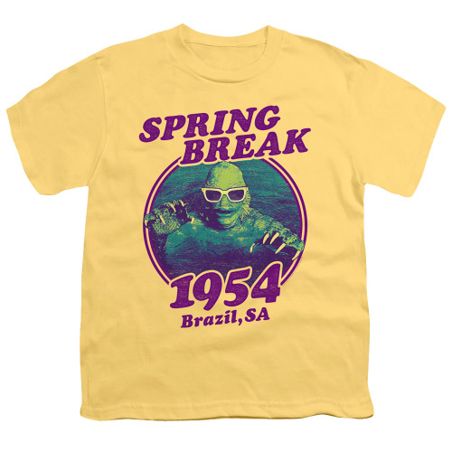 Image for The Creature From the Black Lagoon Youth T-Shirt - Spring Break