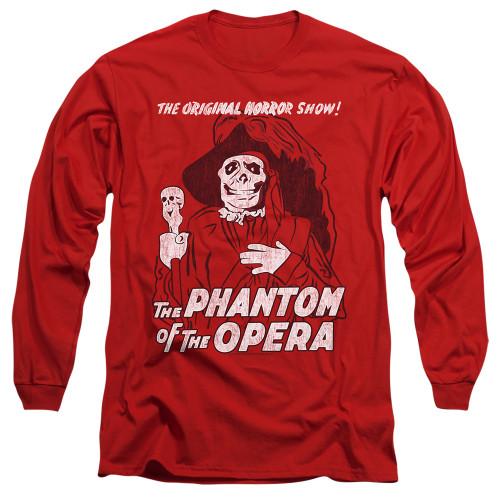 Image for Tha Phantom of the Opera Long Sleeve Shirt - The Original Horror Show