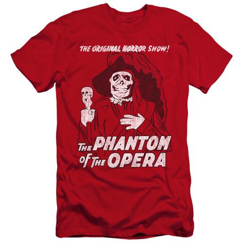 Image for Tha Phantom of the Opera Premium Canvas Premium Shirt - The Original Horror Show