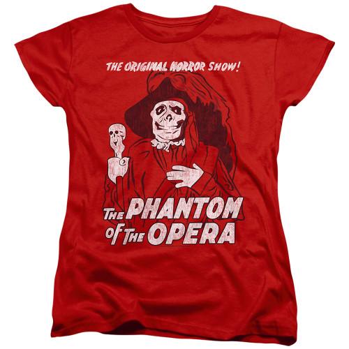 Image for Tha Phantom of the Opera Womans T-Shirt - The Original Horror Show