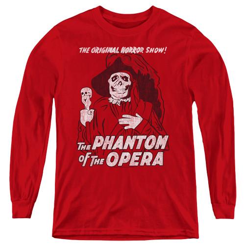 Image for Tha Phantom of the Opera Youth Long Sleeve T-Shirt - The Original Horror Show