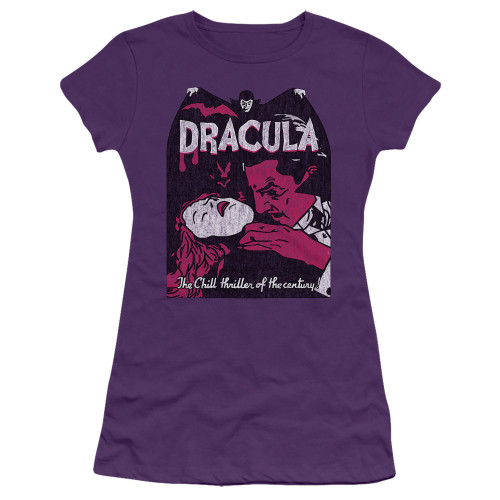 Image for Dracula Girls T-Shirt - The Chill Thriller of the Century!