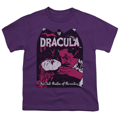 Image for Dracula Youth T-Shirt - The Chill Thriller of the Century!
