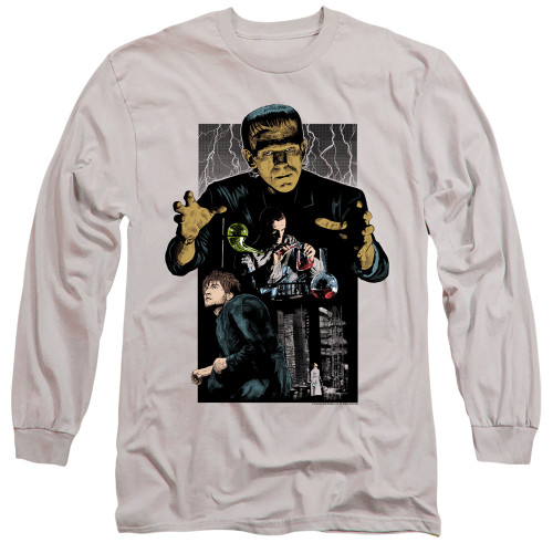 Image for Frankenstein Long Sleeve Shirt - Illustrated
