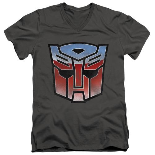 Image for Transformers T-Shirt - V Neck - Vintage Autobot Logo