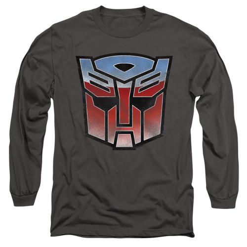 Image for Transformers Long Sleeve T-Shirt - Vintage Autobot Logo