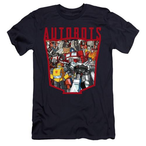 Image for Transformers Premium Canvas Premium Shirt - Autobot Collage