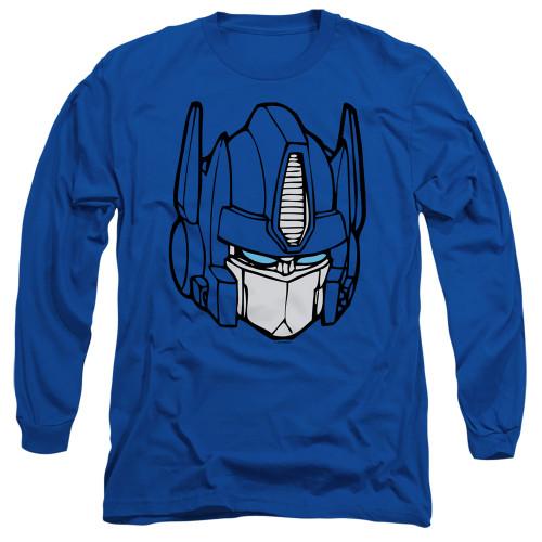 Image for Transformers Long Sleeve T-Shirt - Optimus Head