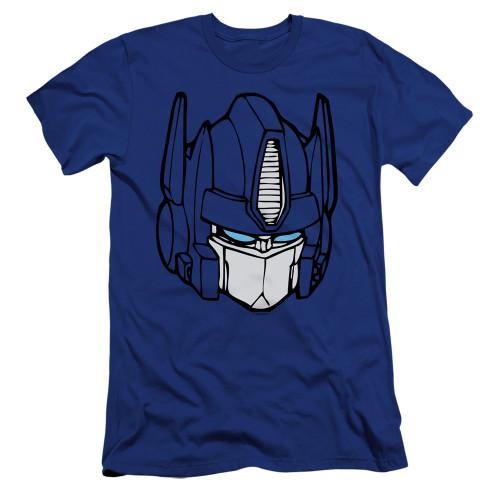 Image for Transformers Premium Canvas Premium Shirt - Optimus Head