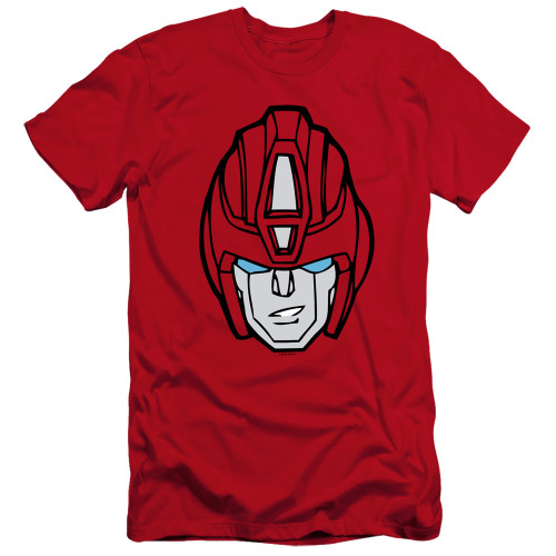 Image for Transformers Premium Canvas Premium Shirt - Hot Rod Head