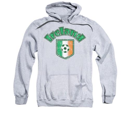 Image for Saint Patricks Day Hoodie - Irish Football Flag