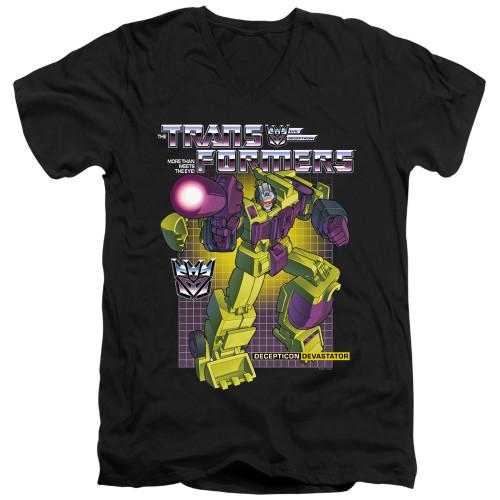 Image for Transformers T-Shirt - V Neck - Devastator