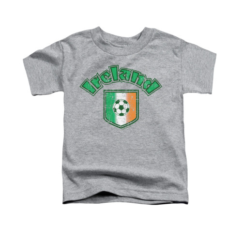 Image for Saint Patricks Day Toddler T-Shirt - Irish Football Flag