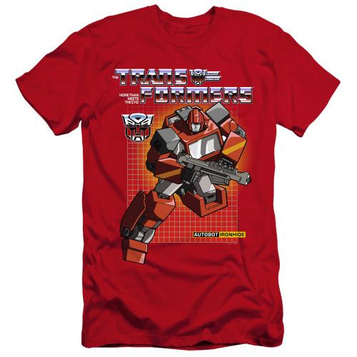 Image for Transformers Premium Canvas Premium Shirt - Ironhide