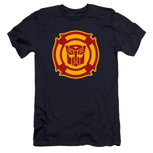 Image for Transformers Premium Canvas Premium Shirt - Rescue Bots Logo