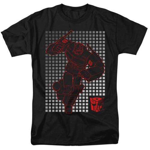 Image for Transformers T-Shirt - Optimus Grid