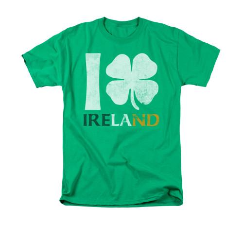 Image for Saint Patricks Day T-Shirt - I Love Ireland