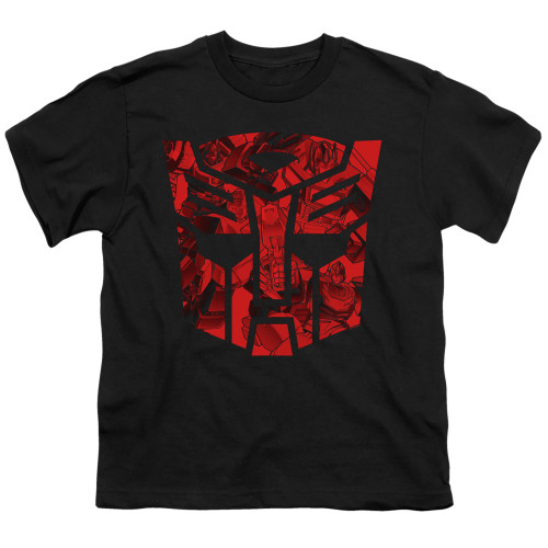Image for Transformers Youth T-Shirt - Tonal Autobot