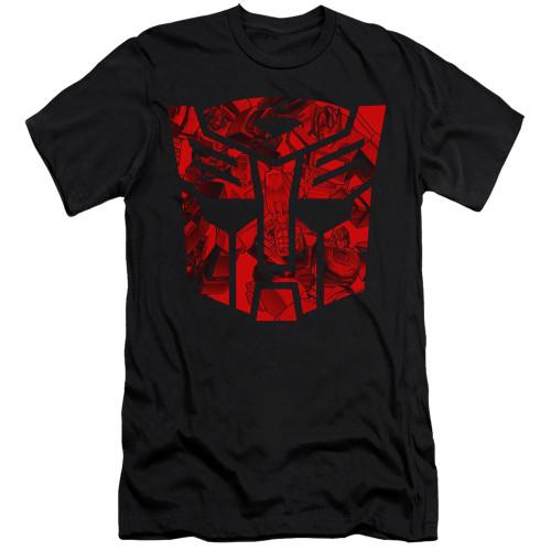 Image for Transformers Premium Canvas Premium Shirt - Tonal Autobot