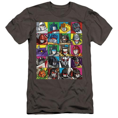 Image for Transformers Premium Canvas Premium Shirt - Transformers Squares