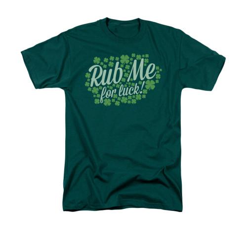 Image for Saint Patricks Day T-Shirt - Rub Me