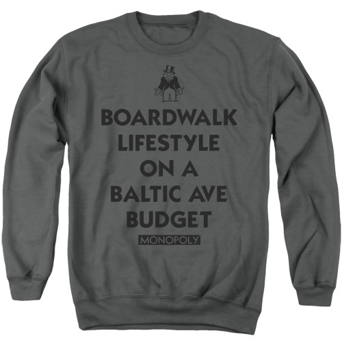 Image for Monopoly Crewneck - Lifestyle vs Budget