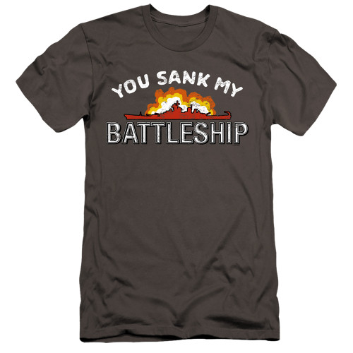 Image for Battleship Premium Canvas Premium Shirt - Sunk