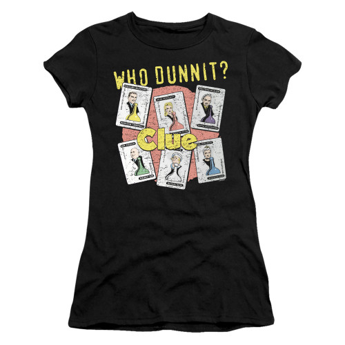 Image for Clue Girls T-Shirt - Who Dunnit