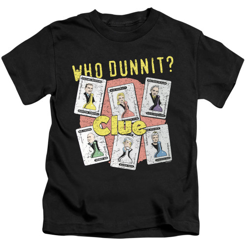 Image for Clue Kids T-Shirt - Who Dunnit