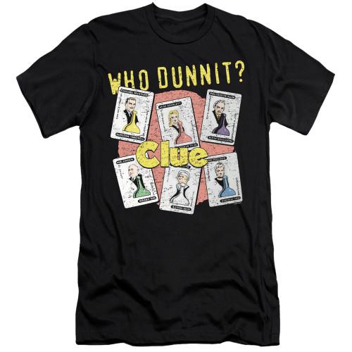 Image for Clue Premium Canvas Premium Shirt - Who Dunnit