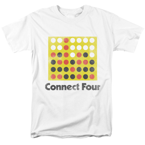 Image for Connect Four T-Shirt - Classic Logo Distressed
