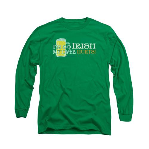 Image for Saint Patricks Day Long Sleeve T-Shirt - So Irish