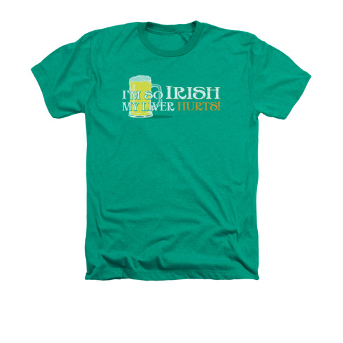 Image for Saint Patricks Day Heather T-Shirt - So Irish