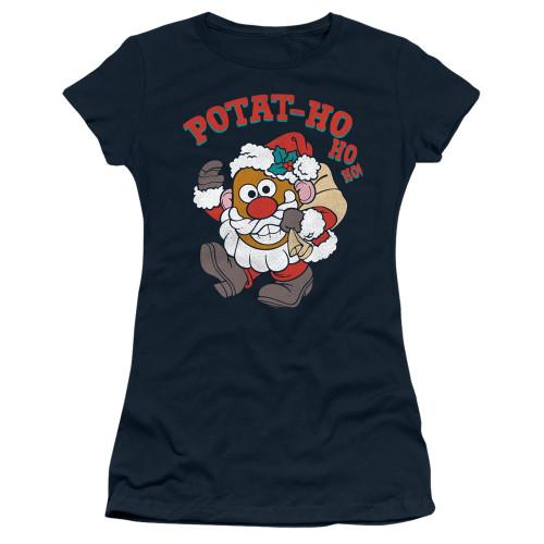Image for Mr. Potato Head Girls T-Shirt - Ho Ho Ho