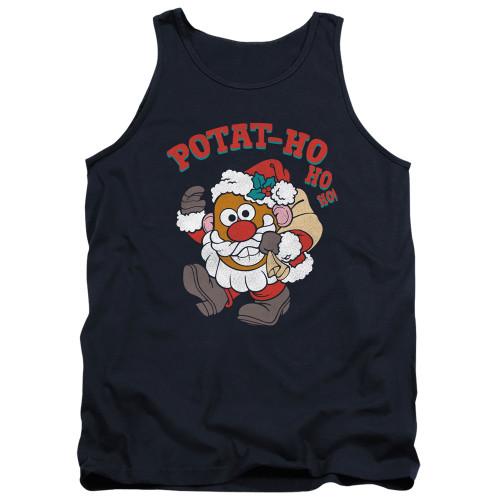 Image for Mr. Potato Head Tank Top - Ho Ho Ho