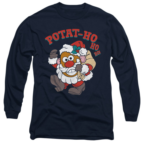 Image for Mr. Potato Head Long Sleeve T-Shirt - Ho Ho Ho