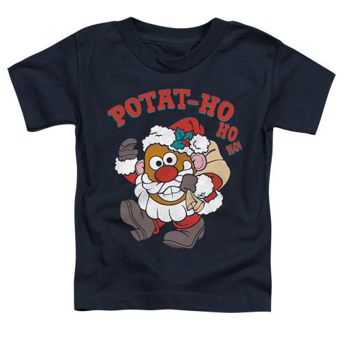 Image for Mr. Potato Head Toddler T-Shirt - Ho Ho Ho