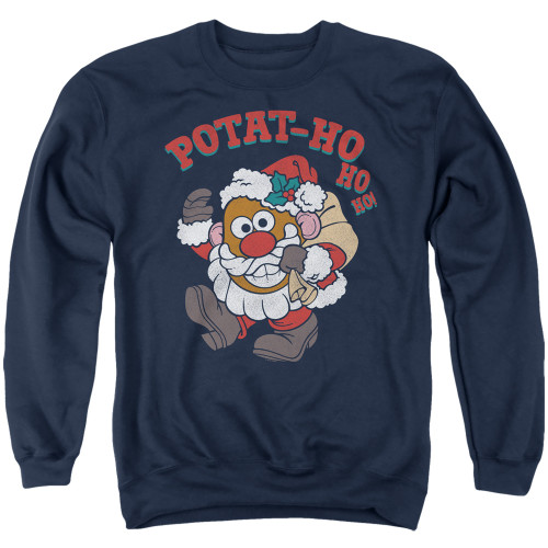 Image for Mr. Potato Head Crewneck - Ho Ho Ho